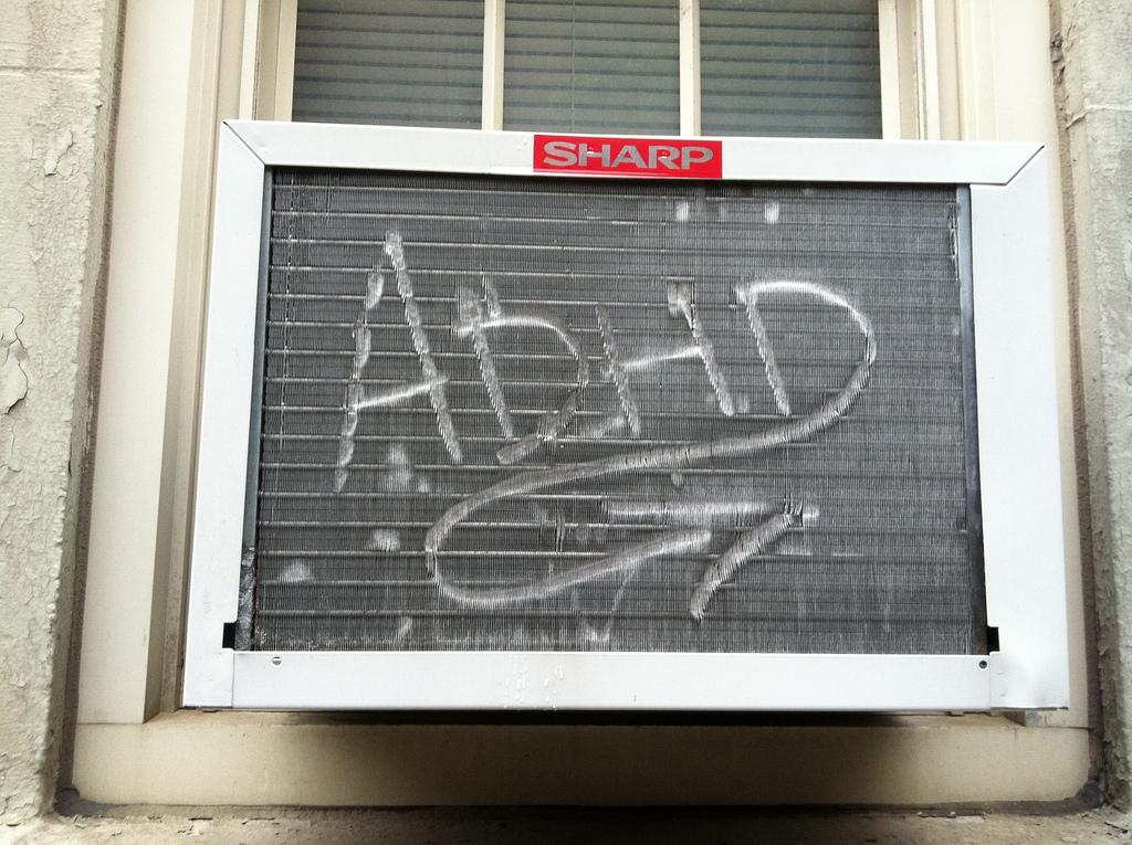 Air Conditioner Graffiti